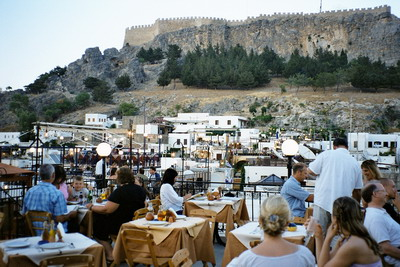 Lindos Restaurants